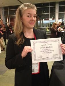 Adrian Van Allen Award 2